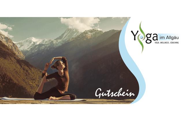 Yoga_im_Allgaeu_Sonthofen Gutschein Wellness Yoga
