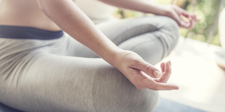 Meditation bei Yoga im Allgäu Sonthofen